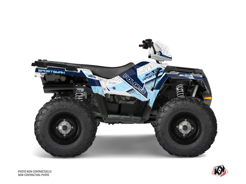 Polaris 570 Sportsman Forest ATV Serie Graphic Kit White