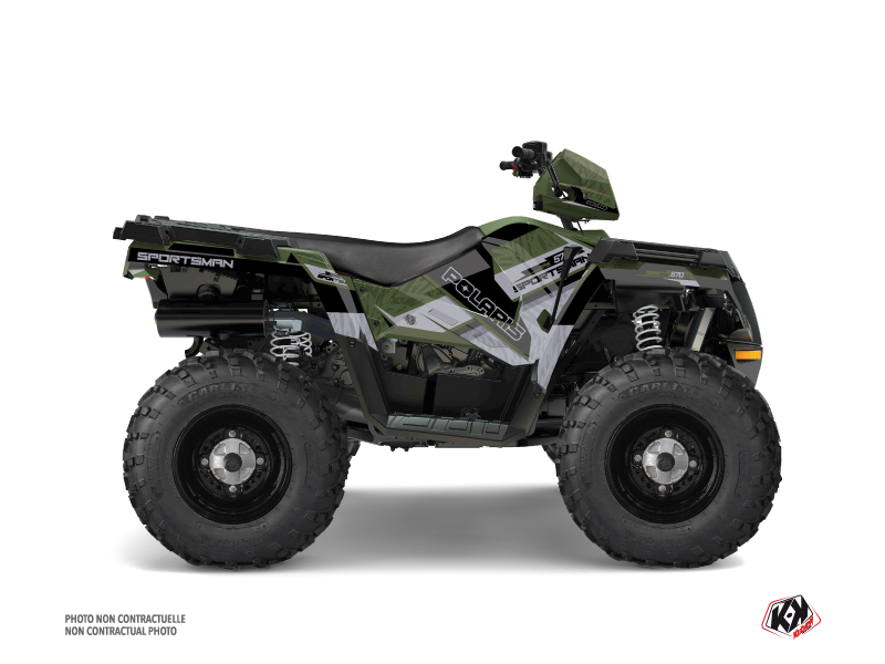 Polaris 570 Sportsman Forest ATV Serie Graphic Kit Green