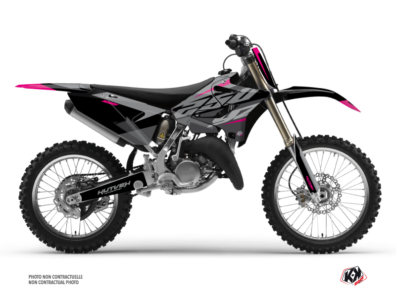 Kit Déco Moto Cross Skew Yamaha 250 YZ Rose