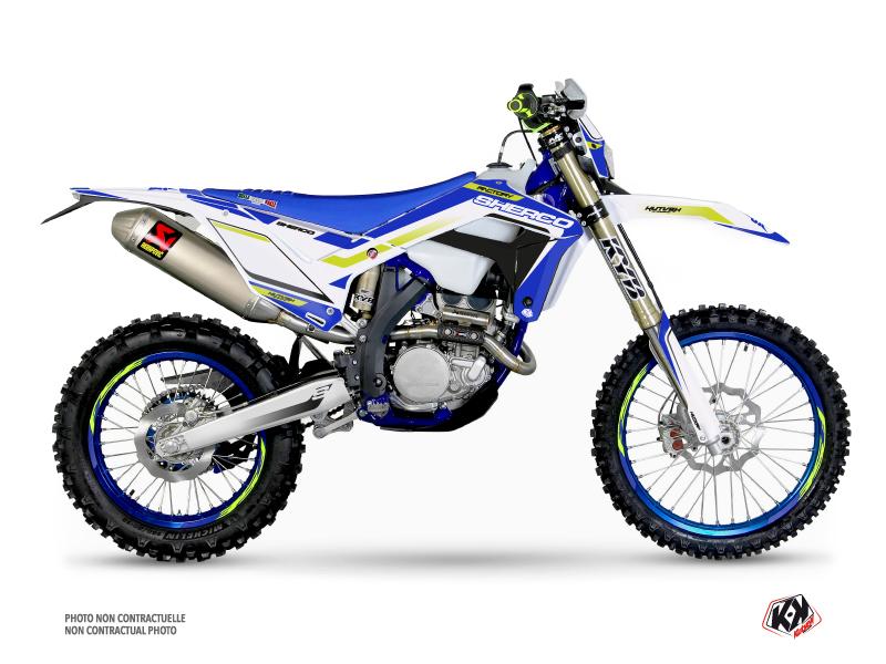 Sherco SE / SEF Dirt Bike Skratch Graphic Kit White