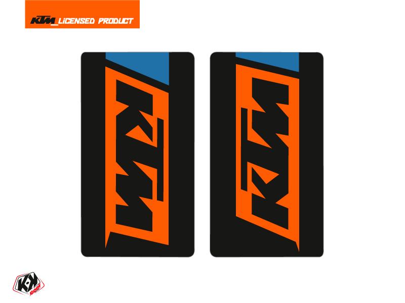 Kit Déco Stickers de fourche Skyline Moto Cross KTM SX-SXF EXC-EXCF Bleu