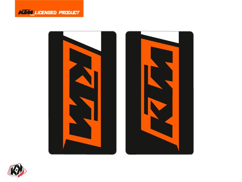Graphic Kit Fork protection stickers Skyline Dirt Bike KTM SX-SXF EXC-EXCF Orange