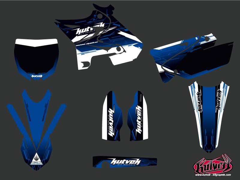 Yamaha 125 YZ Dirt Bike Slider Graphic kit UFO Relift