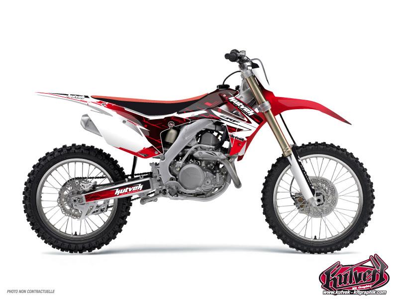 Honda 85 CR Dirt Bike Slider Graphic Kit