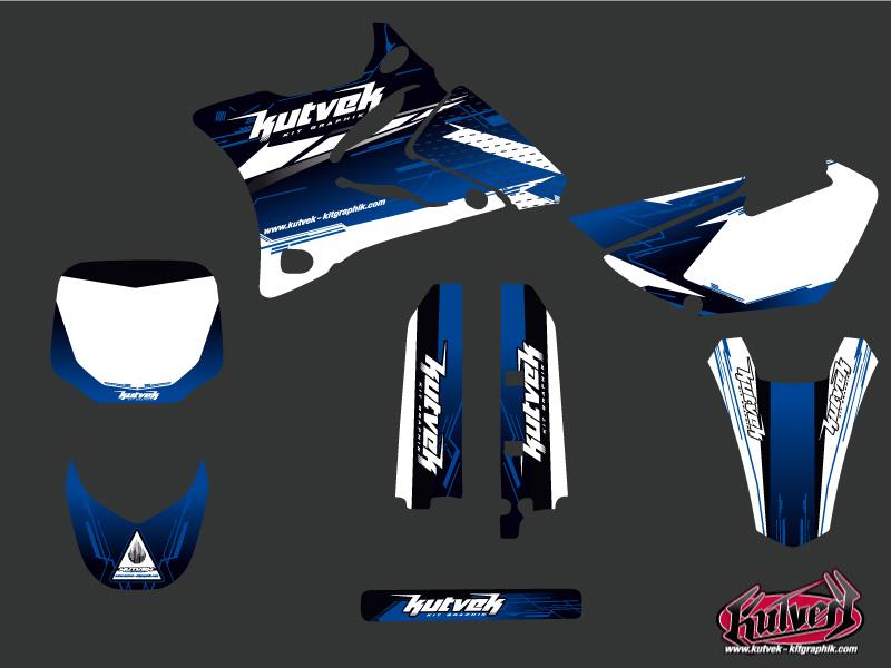 Yamaha 85 YZ Dirt Bike Slider Graphic Kit