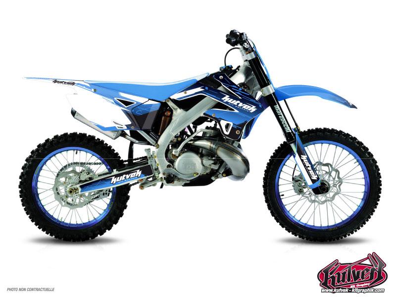 TM EN 530 4t Dirt Bike Slider Graphic Kit