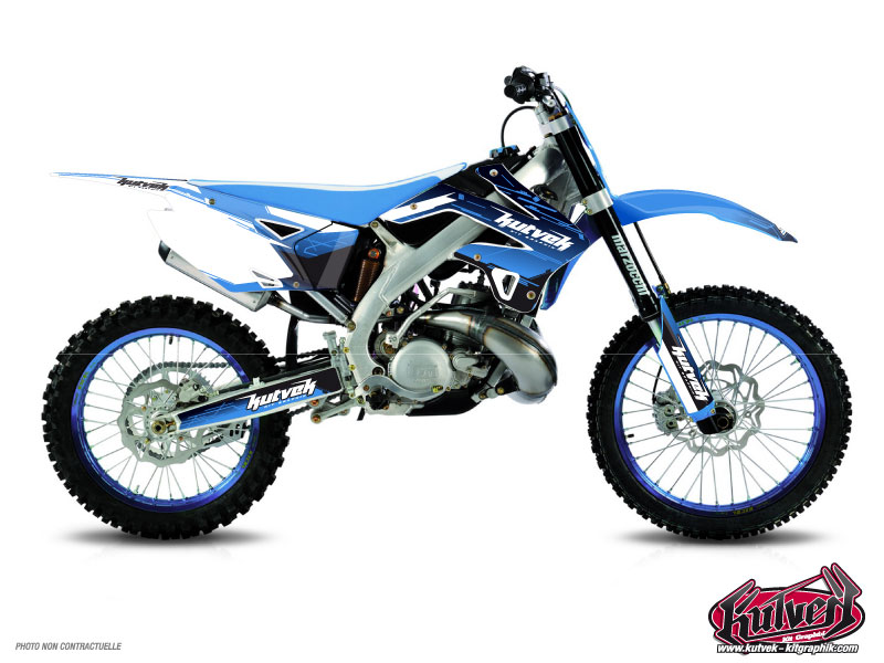 TM MX 125 Dirt Bike Slider Graphic Kit