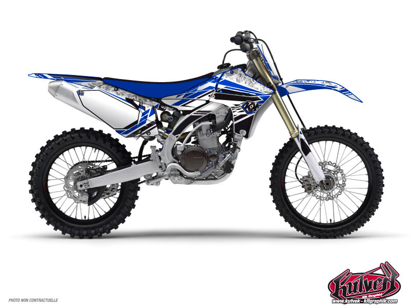 Yamaha 250 YZ Dirt Bike Spirit Graphic Kit