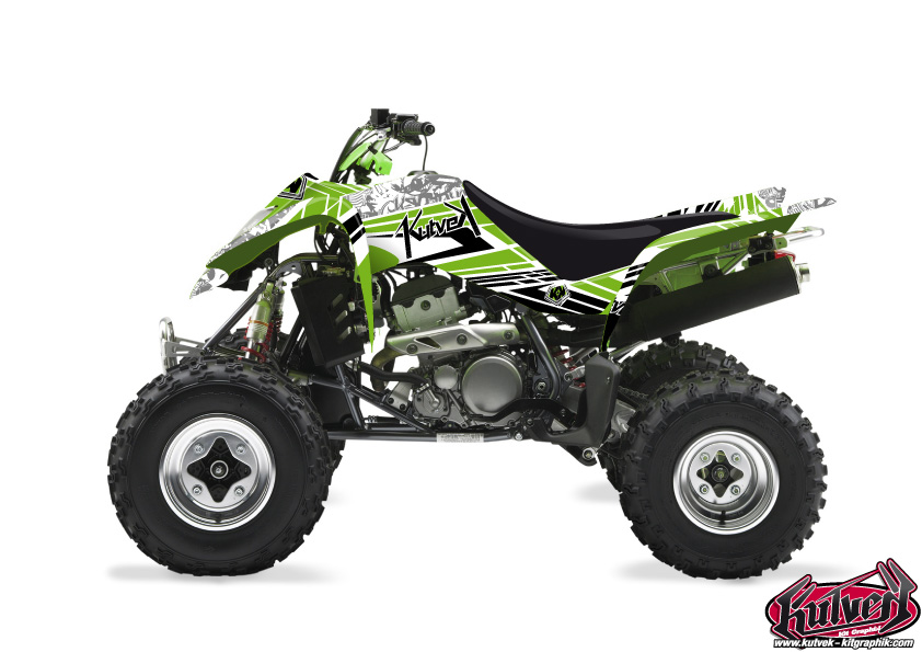 Kawasaki 400 KFX ATV Spirit Graphic Kit