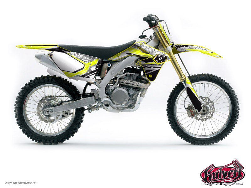 Suzuki 450 RMX Dirt Bike Spirit Graphic Kit