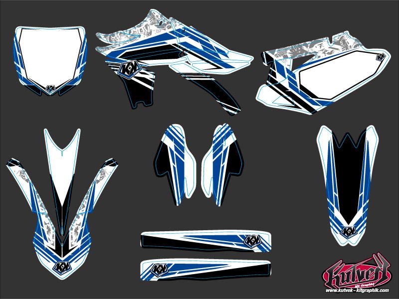 Yamaha 450 YZF Dirt Bike Spirit Graphic Kit