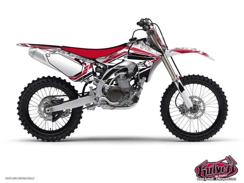 Yamaha 450 YZF Dirt Bike Spirit Graphic Kit Red