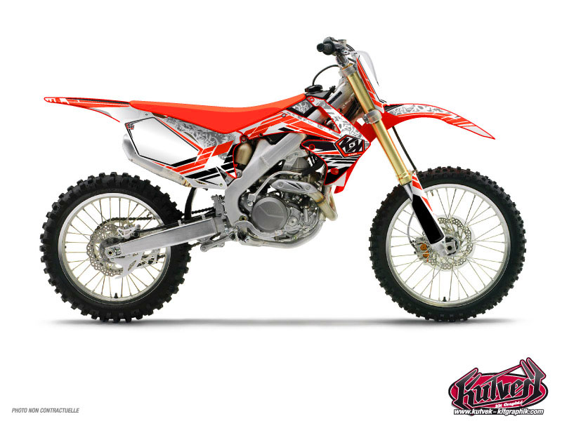 Honda 85 CR Dirt Bike Spirit Graphic Kit