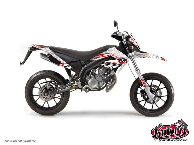 Derbi DRD Xtreme 50cc Spirit Graphic Kit Red