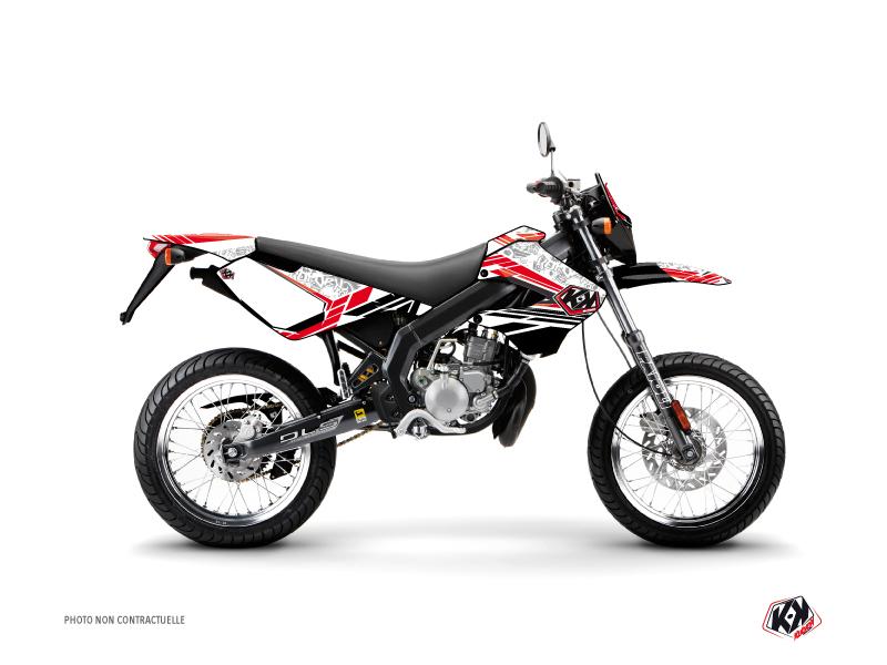Derbi Xtreme / Xrace 50cc Spirit Graphic Kit Red
