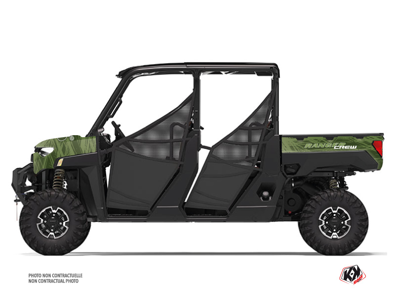Polaris Ranger Crew UTV Squad Graphic Kit Green