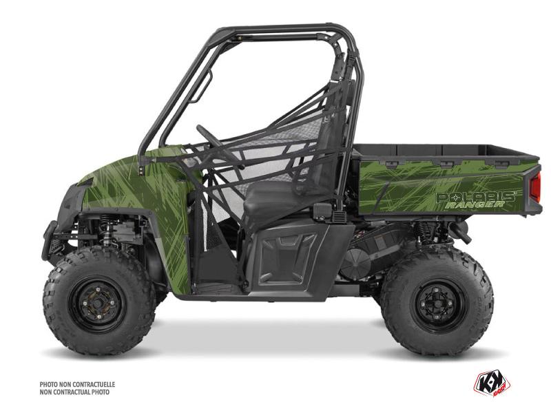 Polaris Ranger 570 FULL UTV Squad Graphic Kit Green
