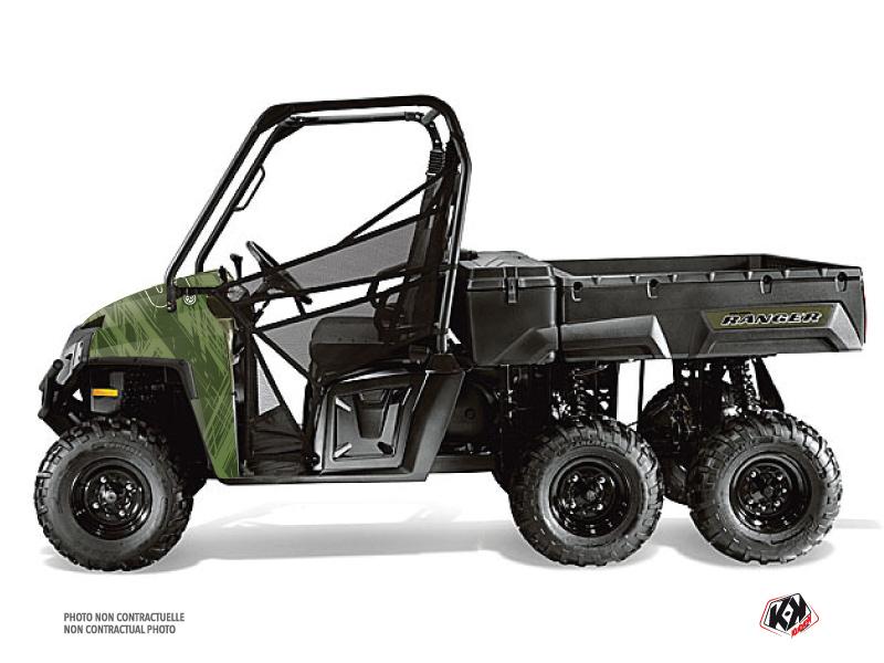 Polaris Ranger 6x6 UTV Squad Graphic Kit Green