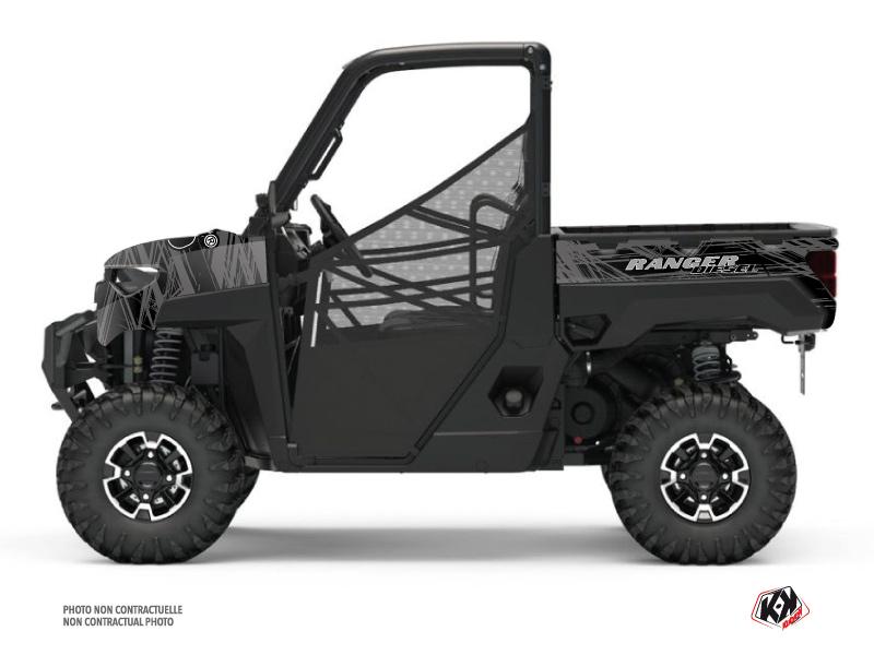 Kit Déco SSV Squad Polaris Ranger Diesel Noir Gris