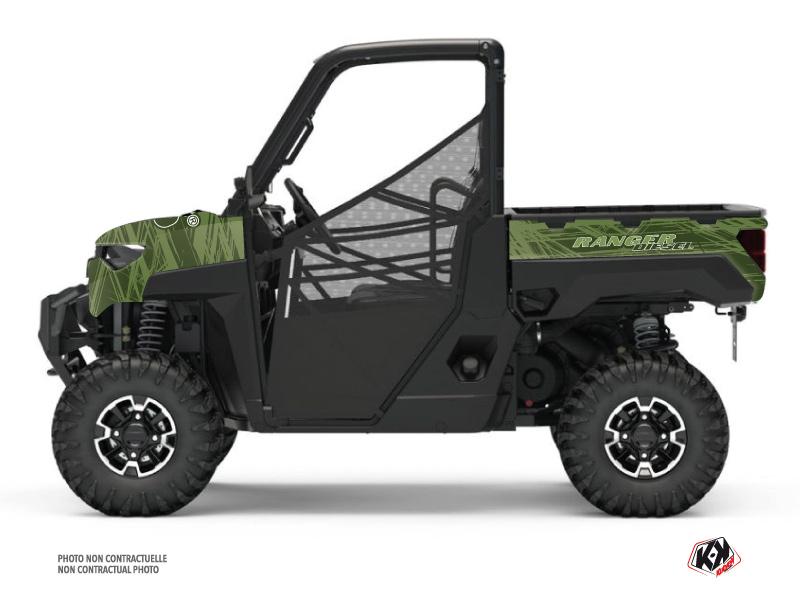 Kit Déco SSV Squad Polaris Ranger Diesel Vert
