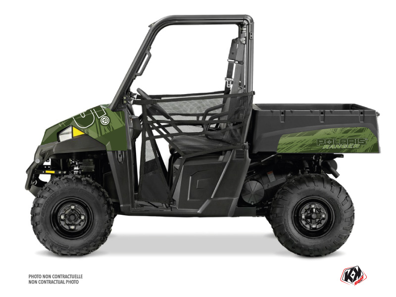 Polaris Ranger EV UTV Squad Graphic Kit Green