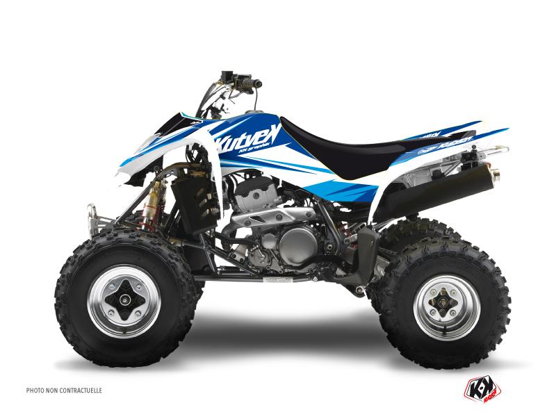 Suzuki 250 LTZ ATV Stage Graphic Kit Blue