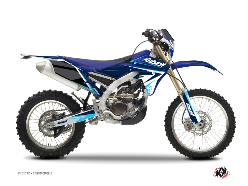 Kit Déco Moto Cross Stage Yamaha 250 WRF Bleu
