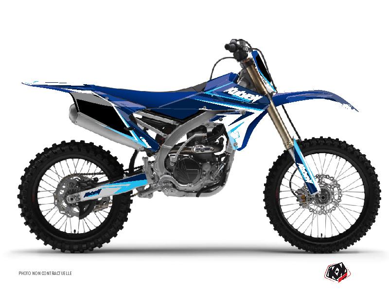 Yamaha 250 YZF Dirt Bike Stage Graphic Kit Blue
