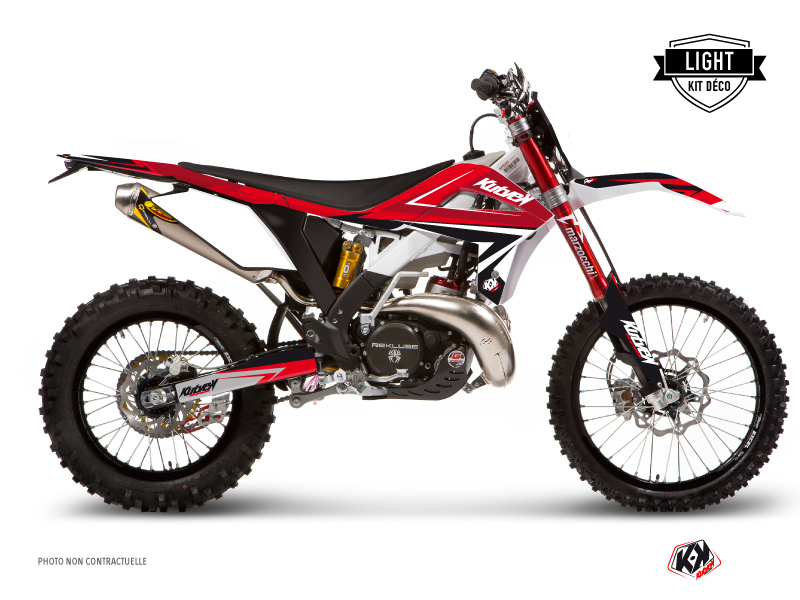 GASGAS ECF Dirt Bike Stage Graphic Kit Red LIGHT
