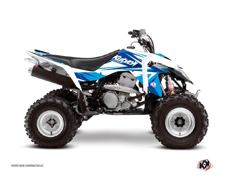 Suzuki 400 LTZ IE ATV Stage Graphic Kit Blue