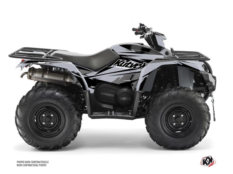 Yamaha 450 Kodiak ATV Stage Graphic Kit Grey