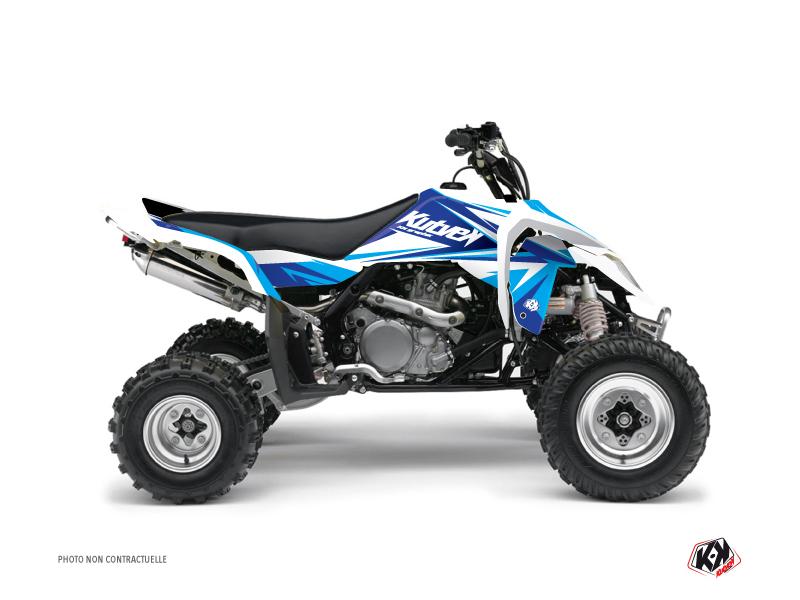 Suzuki 450 LTR ATV Stage Graphic Kit Blue