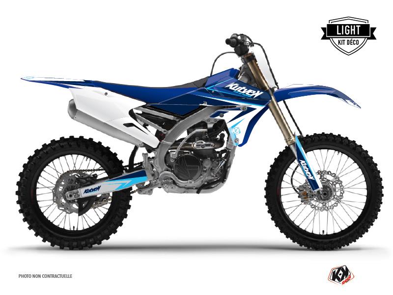 Kit Déco Moto Cross Stage Yamaha 450 YZF Bleu LIGHT