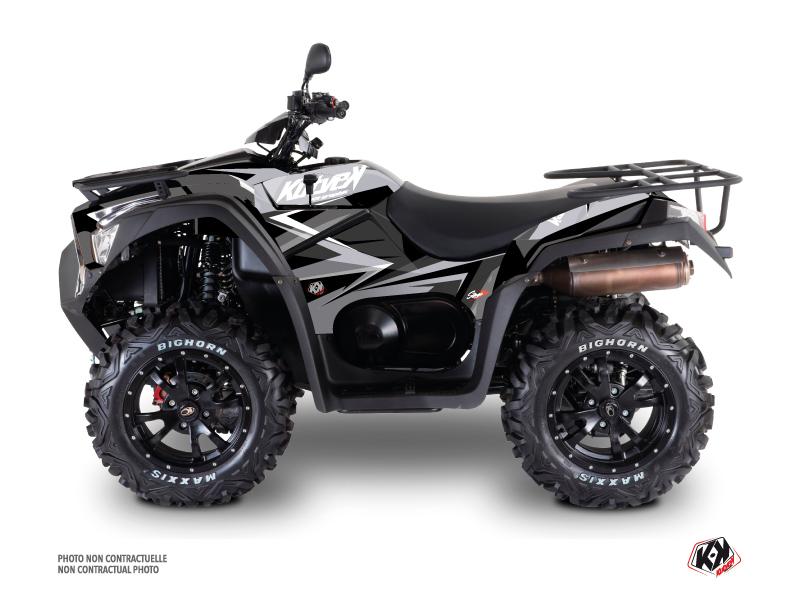 Kymco 700 MXU ATV Stage Graphic Kit Grey
