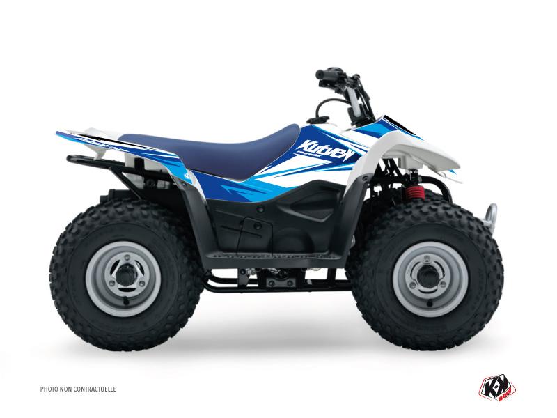 Suzuki 90 LTZ ATV Stage Graphic Kit Blue