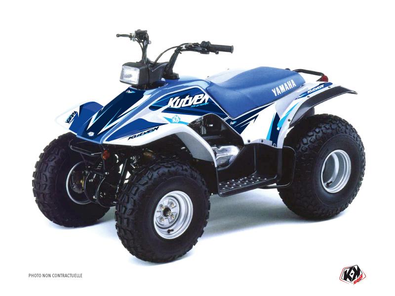 Yamaha Breeze ATV Stage Graphic Kit Blue