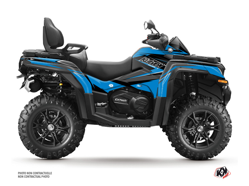 CF MOTO CFORCE 1000 ATV Stage Graphic Kit Blue Black