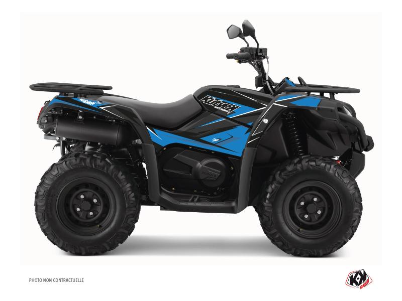 CF MOTO CFORCE 520 S ATV Stage Graphic Kit Blue Black