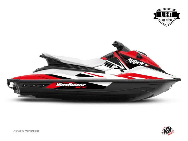 Yamaha EX Jet-Ski Stage Graphic Kit White Red LIGHT