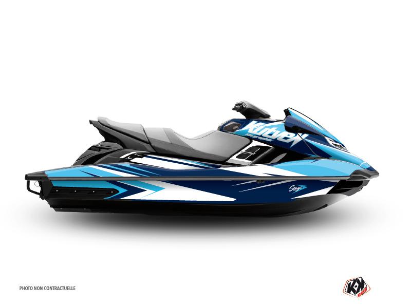 Yamaha FZR-FZS Jet-Ski Stage Graphic Kit Blue