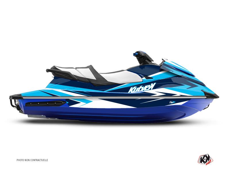 Yamaha GP 1800 Jet-Ski Stage Graphic Kit Blue
