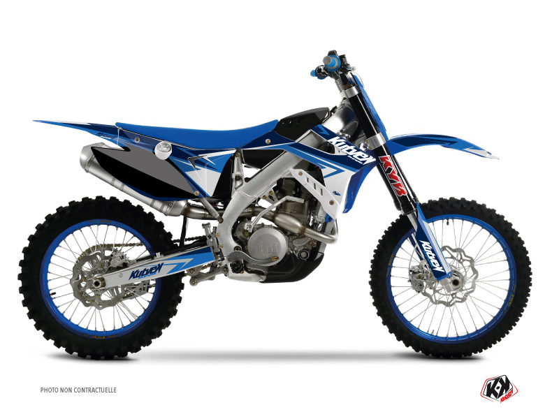 TM MX 125 Dirt Bike Stage Graphic Kit Blue