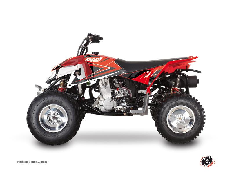 Polaris Outlaw 450 ATV Stage Graphic Kit Red