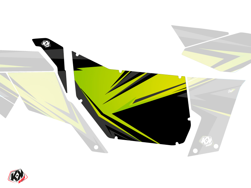 Graphic Kit Doors Suicide Pro Armor Stage Can Am Maverick 2012-2017 Green
