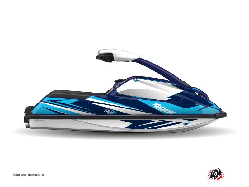 Yamaha Superjet Jet-Ski Stage Graphic Kit Blue