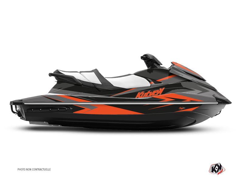 Kit Déco Jet-Ski Stage Yamaha VX Gris Orange