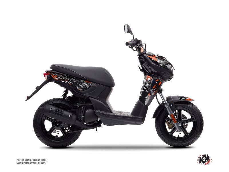 MBK Stunt Scooter Stars Graphic Kit Orange