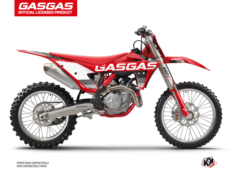 GASGAS EXF 350 Dirt Bike Stella Graphic Kit Black