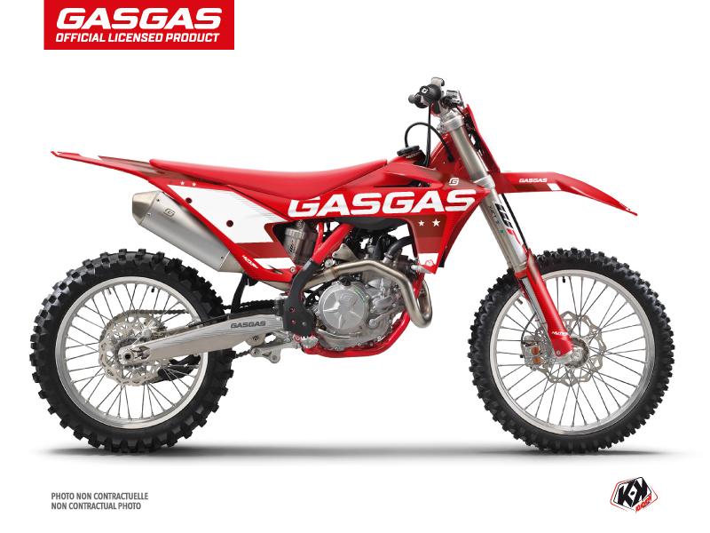 GASGAS MCF 450 Dirt Bike Stella Graphic Kit Red