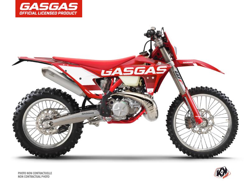 GASGAS ECF Dirt Bike Stella Graphic Kit Red